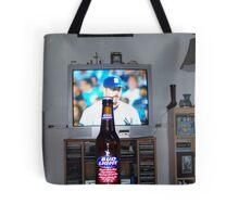 Beer N' Yankees Baseball Tote Bag