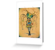 Babycat Angel2 - art by ANGIECLEMENTINE Greeting Card