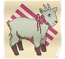 goat bow Poster