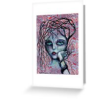 DISAPPOINTED - art by ANGIECLEMENTINE Greeting Card