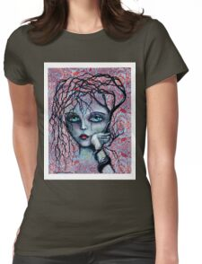 DISAPPOINTED - art by ANGIECLEMENTINE Womens Fitted T-Shirt