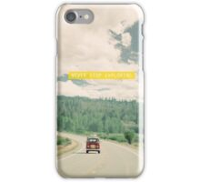 NEVER STOP EXPLORING - vintage volkswagen van iPhone Case/Skin