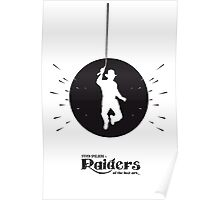 The Black Collection' Raiders Poster