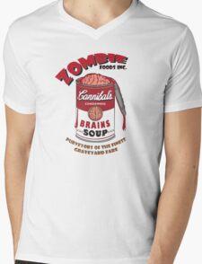 Zombie Brains Soup Mens V-Neck T-Shirt