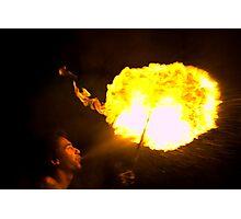 Fire Ball Photographic Print
