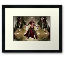 Wizard Of Power Framed Print