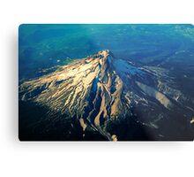 Flying above an Oregon Landscape Metal Print