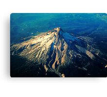 Flying above an Oregon Landscape Canvas Print