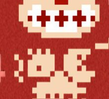 8bit Donkey Kong Sticker