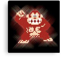 8bit Donkey Kong Canvas Print