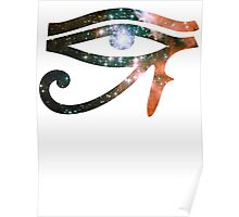 Kid Cudi Galaxy [Red] | Eye of Ra [Eye of Horus] Poster