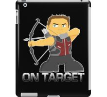 On Target Avenger iPad Case/Skin