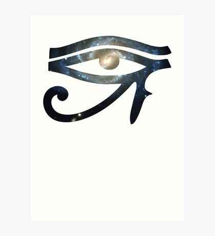 The Lost Galaxy | Eye of Ra [Eye of Horus] Art Print