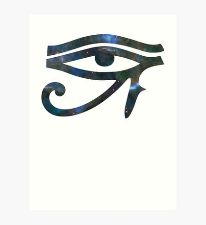 Carina's Mystic Mist | Eye of Ra [Eye of Horus] Art Print