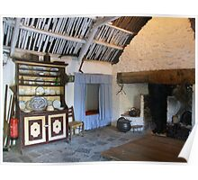 Bunratty cottage kitchen Poster