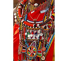 Masai Jewellery Photographic Print