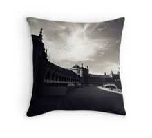 Seville in Fiction Throw Pillow