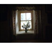 Dark cottage window Photographic Print