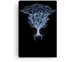 Tree of lighting Canvas Print