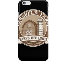 Hershel's Farm iPhone Case/Skin