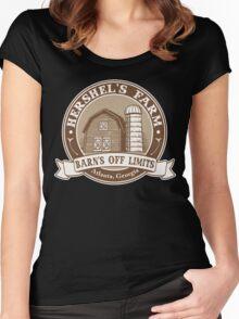 Hershel's Farm Women's Fitted Scoop T-Shirt