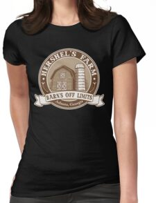 Hershel's Farm Womens Fitted T-Shirt