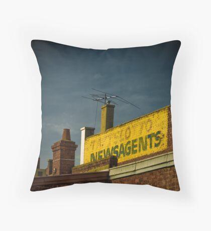 Newsmonger  Throw Pillow