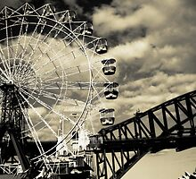 The Ferris Wheel by Vee T