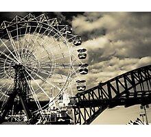 The Ferris Wheel Photographic Print