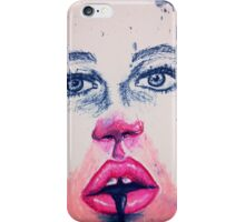 Makeup face iPhone Case/Skin