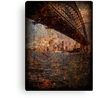 Passing time Canvas Print