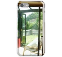 Conservatory comfort iPhone Case/Skin