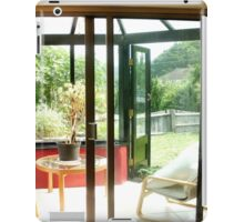 Conservatory comfort iPad Case/Skin