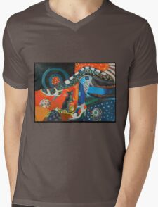 Jazz bar Mens V-Neck T-Shirt