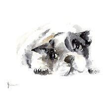 French bulldog original artwork by Joanna Szmerdt