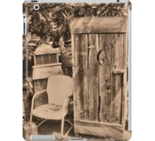 OUTHOUSE AND.....NEXT IN LINE iPad Case/Skin