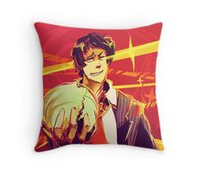 he did it for the lols Throw Pillow