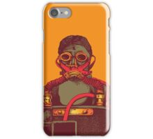 Man With Mask iPhone Case/Skin