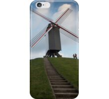 On top of the hill beneath the mill  iPhone Case/Skin