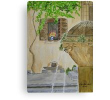 Provence   ( watercolour ) Canvas Print