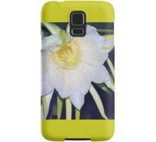 Red Dragon-Fruit Flower Bloom Samsung Galaxy Case/Skin