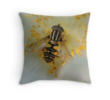 Bee at work #2 Throw Pillow