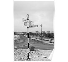 Pointing the Way, Goathland Signpost Poster