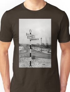 Pointing the Way, Goathland Signpost Unisex T-Shirt