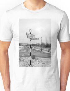 Pointing the Way, Goathland Signpost Unisex T-Shirt