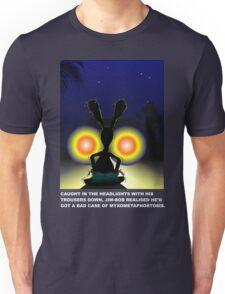 Metaphor Mayhem for dark T-shirts Unisex T-Shirt