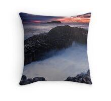 Fingal Rocks Throw Pillow