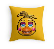 Five Nights at Freddy's 2 - Pixel art - Toy Chica Throw Pillow