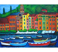Portofino Colours Photographic Print