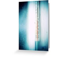 Thermometer Greeting Card
